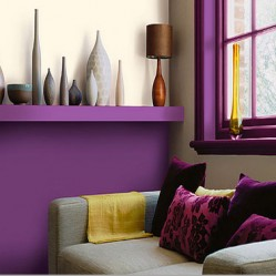 decoration-salon-violet-jaune