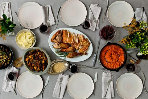 La Dinde farcie de Thanksgiving