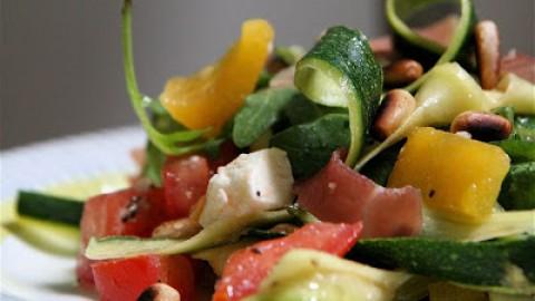 Tagliatelles de légumes au boeuf – Wok