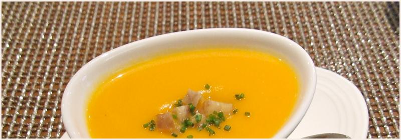 Plat soupe potiron