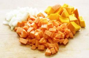 carotte potiron oignon