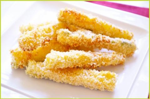 Recette des Frites de courgettes