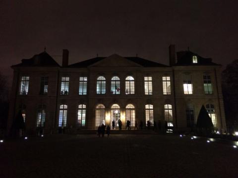 Une soirée au musée Rodin
