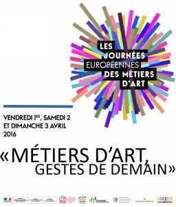 Journées des métiers d'Art - 01/04 au 03/04