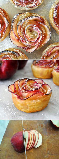 tarte pomme fleur