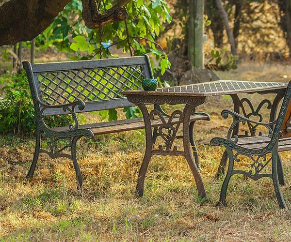 mobilier jardin vintage