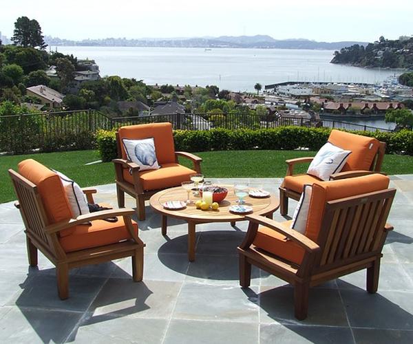salon jardin fauteuils coussins
