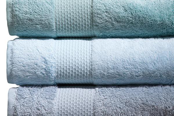 serviettes éponge