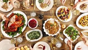 Repas-thanksgiving-dinde-legume
