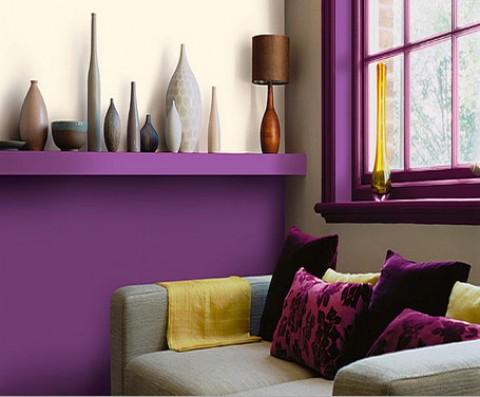 Des couleurs dans ma maison