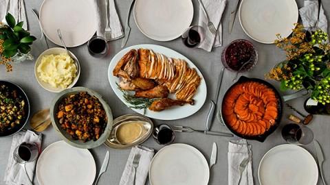 La Dinde farcie de Thanksgiving