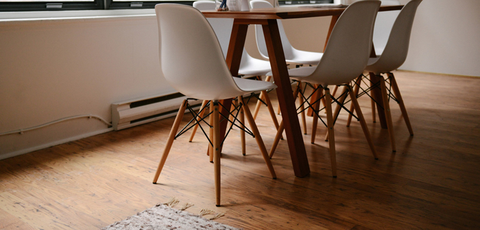 table et chaises design