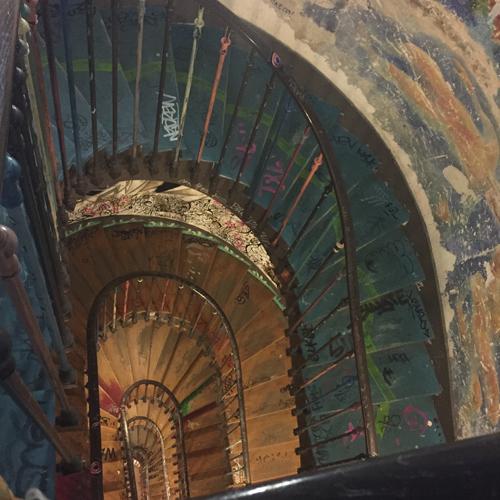 escalier rivoli