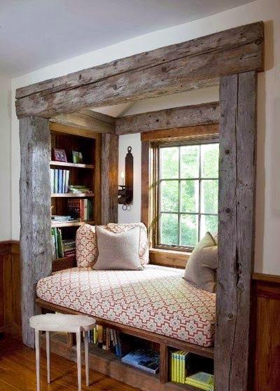 Espace de détente en bois