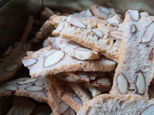 biscuits croquants amandes
