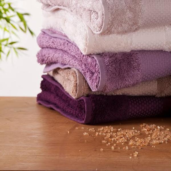 serviette violette