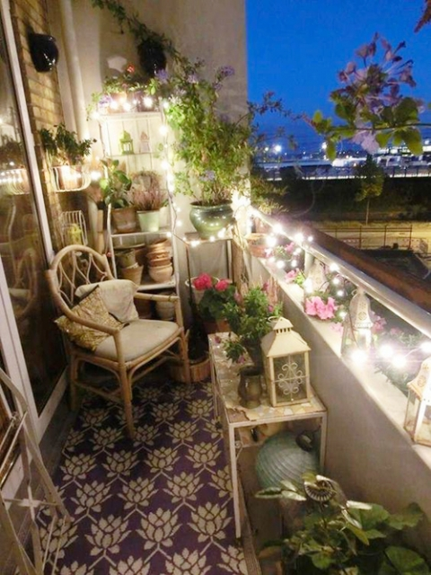 Aménager un balcon