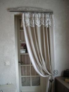 rideaux porte